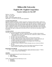 English 110English Composition