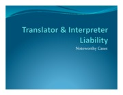 Translator & Interpreter Liability (Final)