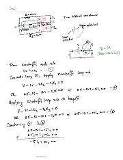 Day11 (Application of Kirchoff's Law)