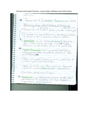 terrorism notes Sparknotes: social institutions: quick review forms: revolution , war , and terrorism family the institution of family has three important functions: to provide for the rearing of children, to provide a sense of identity or belonging among its members.