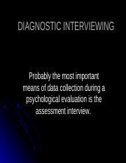 DIAGNOSTIC INTERVIEWING.ppt
