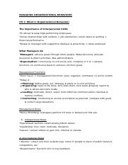 WORK 2218-Managing Organisational Behaviour.docx