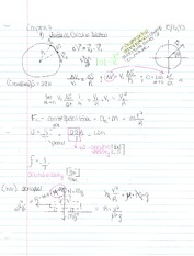 Chapter 7 Notes- Circular Motion