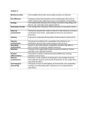 MGT 450 Key terms chapter 4.docx