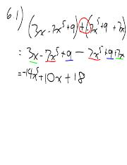 01b solving by addition and subtraction with test answers.pdf