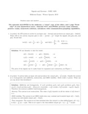 Midterm Solutions 2010