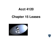 Acct 4120 Chapter 15 Spiceland 5th edition