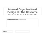 Day+20+Internal+Org+Design+-+Resource+Dependence+13+Oct+2010