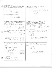 Probability Review Answers