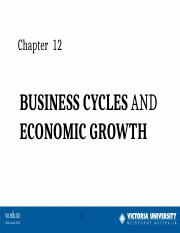 Week 8  Business Cycles & Economic Growth e-l  S2 2016