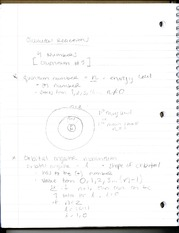 Notes on Chemical Reactions