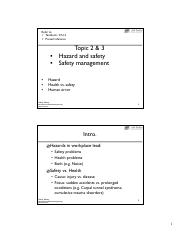2&3 Hazard control and Safety management.pdf