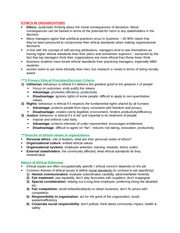 Chapter 12 - ethics in organizations study guide