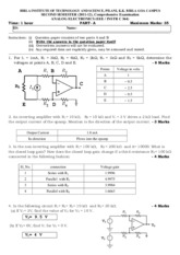 anlog_electronics_EEEC364_Compre_Answer_Key