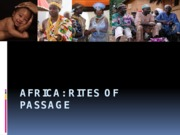 rites of passage in africa