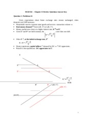 Review Solutions Chapter 15