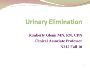 Urinary fall 10_student