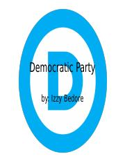 Democratic party.pptx