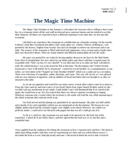 The Magic Time Machine Review