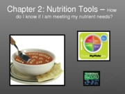 F12  NCC11e_lecture 2 Planning Healthy diet