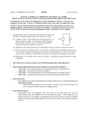 EE 302 Exam 1 F12 - Numerical Answers(1)
