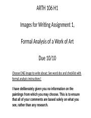 FA 16 Writing Assignment 1 Powerpoint