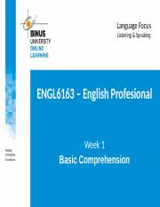 PPT 1- Basic Comprehension.ppt