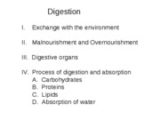7 Digestion 3 Process of digestion and absorption