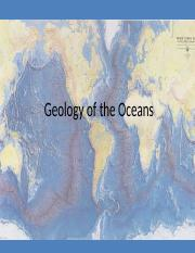 CH 4 Geology of the Oceans.ppt
