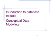 Lecture 04a Data models