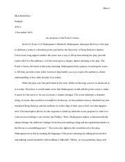 An Analysis of the Porter's Scene.docx