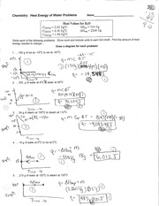 Printables Physical Science If8767 Worksheet Answers science adirondack high school course hero 2 pages energy of water problems key