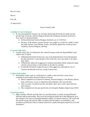 Moore His 106 Exam 2 Study Guide