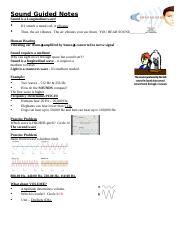 (8) Sound waves Guided Notes 1.doc
