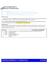 Copy of CLC - Assign #3 - LIFELONG LEARNING