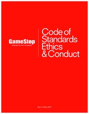 Code of Standards, Ethics & Conduct (rev 5.01.15)