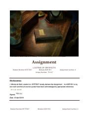 Assignment 4 for AGE 1501 751197 Looting in Archaeology J Zerres.pdf