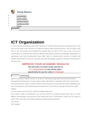 1 can icts be innovatively used in