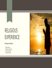 Arguments from Religious experience.pptx