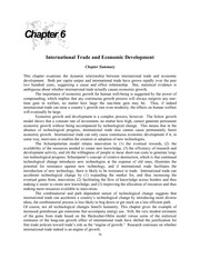 international economics chapter 6