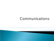 PPt 7 Communications