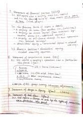 finanaical position class note