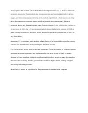 week 4 discussio1 and 2 eco320.docx