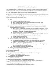 INTB 3354 Mid Term Study Guide.docx