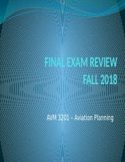 AVM+3201-Final+Exam+FA18+Review.pptx