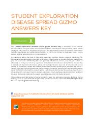 student-exploration-disease-spread-gizmo-answers-key