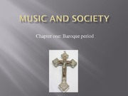 Music and Society SCAP1