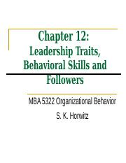 Ch 12 Leadership.ppt