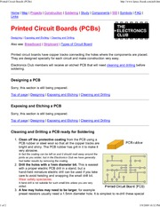 Printed Circuit Boards (PCBs)