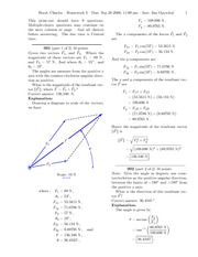 Online Homework Answers 3 (Sept. 28, 2006)